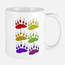 3 SETS OF RAINBOW BEAR PAWS Mug