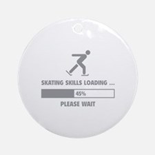 Skating Skills Loading Ornament (Round)
