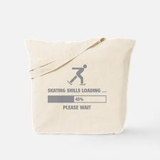 Skating Skills Loading Tote Bag