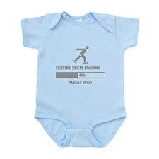 Skating Skills Loading Infant Bodysuit