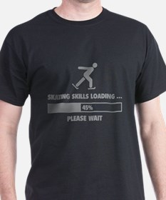 Skating Skills Loading T-Shirt