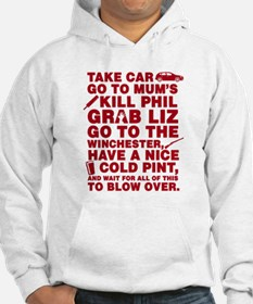 Shaun Of The Dead Montage Hoodie
