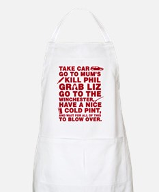 Shaun Of The Dead Montage Apron