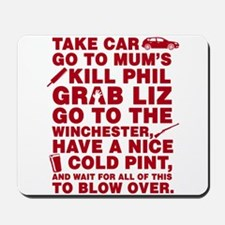 Shaun Of The Dead Montage Mousepad