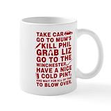 Shaunofthedeadmovie Coffee Mugs