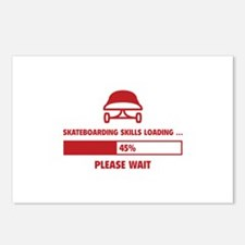 Skateboarding Skills Loading Postcards (Package of