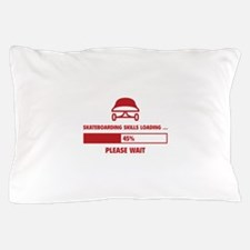 Skateboarding Skills Loading Pillow Case