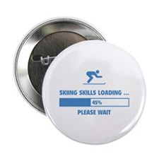 "Skiing Skills Loading 2.25"" Button"