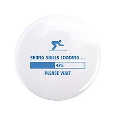 "Skiing Skills Loading 3.5"" Button"