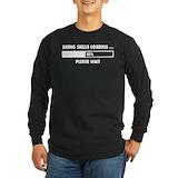 Alpine skiing Long Sleeve T-shirts (Dark)