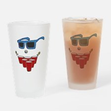 Rack and Laugh Drinking Glass