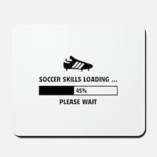 Soccer Skills Loading Mousepad