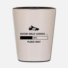 Soccer Skills Loading Shot Glass