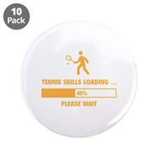 "Tennis Skills Loading 3.5"" Button (10 pack)"