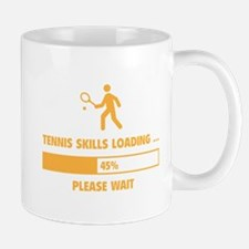 Tennis Skills Loading Mug