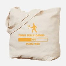 Tennis Skills Loading Tote Bag