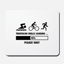Triathlon Skills Loading Mousepad