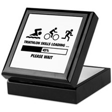 Triathlon Skills Loading Keepsake Box