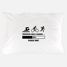 Triathlon Skills Loading Pillow Case