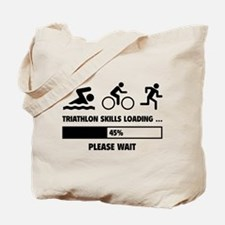 Triathlon Skills Loading Tote Bag