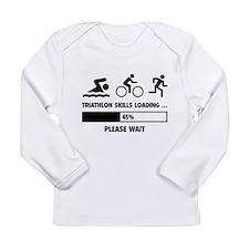Triathlon Skills Loading Long Sleeve Infant T-Shir