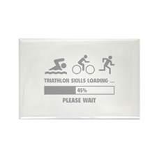 Triathlon Skills Loading Rectangle Magnet (100 pac