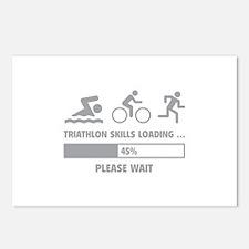 Triathlon Skills Loading Postcards (Package of 8)