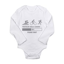 Triathlon Skills Loading Long Sleeve Infant Bodysu