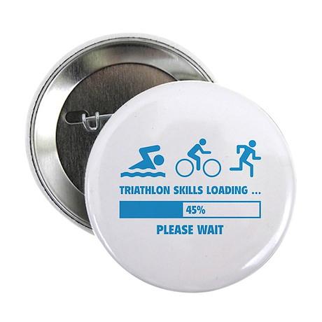 "Triathlon Skills Loading 2.25"" Button"