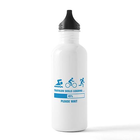 Triathlon Skills Loading Stainless Water Bottle 1.