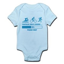 Triathlon Skills Loading Infant Bodysuit