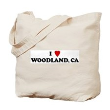 I Love WOODLAND Tote Bag