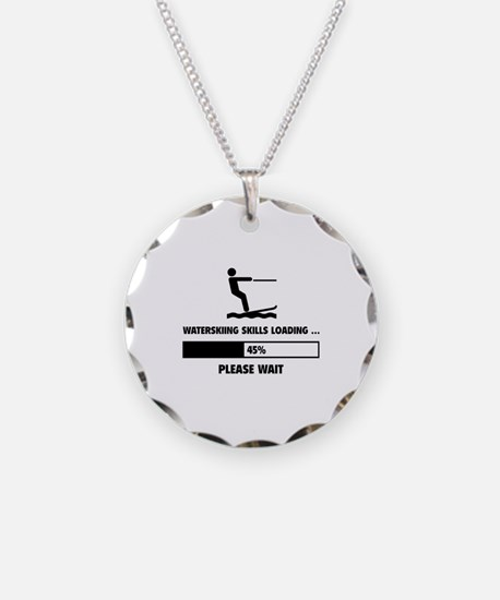 Waterskiing Skills Loading Necklace