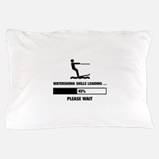 Waterskiing Skills Loading Pillow Case