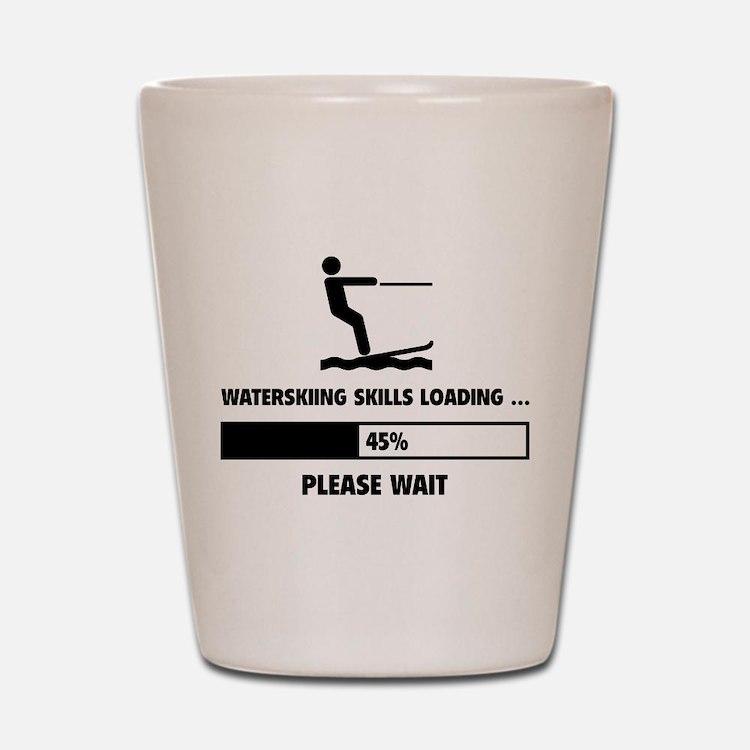 Waterskiing Skills Loading Shot Glass
