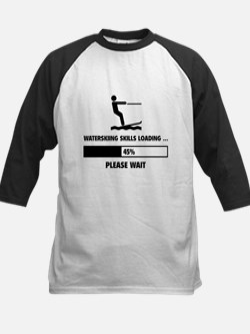 Waterskiing Skills Loading Kids Baseball Jersey