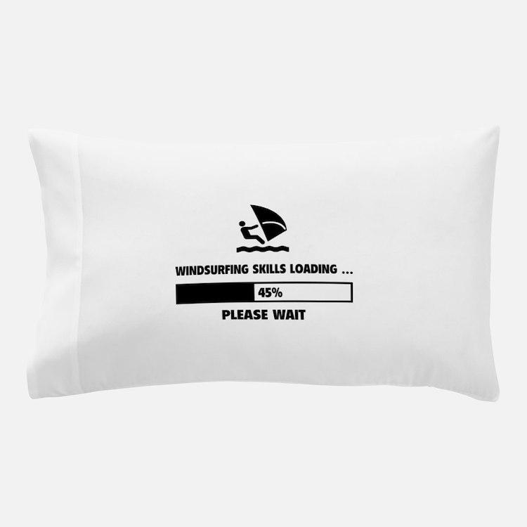 Windsurfing Skills Loading Pillow Case