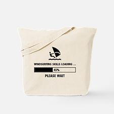 Windsurfing Skills Loading Tote Bag