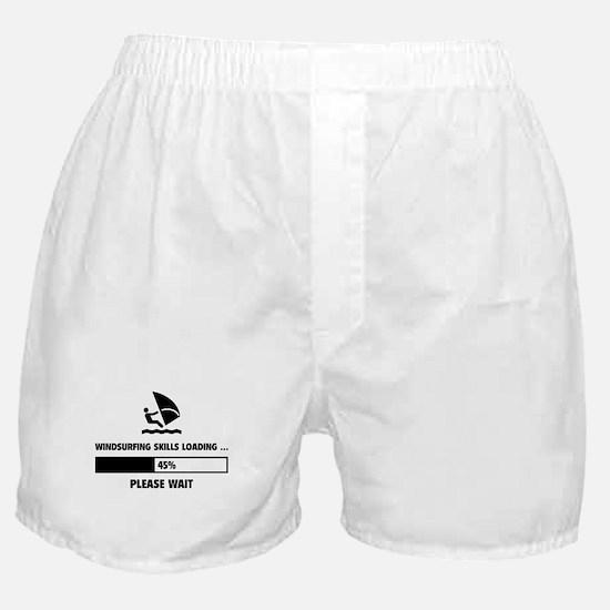 Windsurfing Skills Loading Boxer Shorts