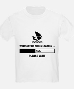 Windsurfing Skills Loading T-Shirt