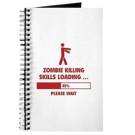 Zombie Killing Skills Loading Journal
