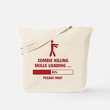 Zombie Killing Skills Loading Tote Bag