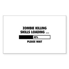 Zombie Killing Skills Loading Decal