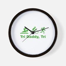 Tri Daddy, Tri Wall Clock