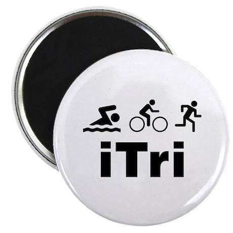 """iTri 2.25"""" Magnet (10 pack)"""