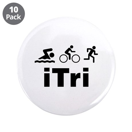 "iTri 3.5"" Button (10 pack)"