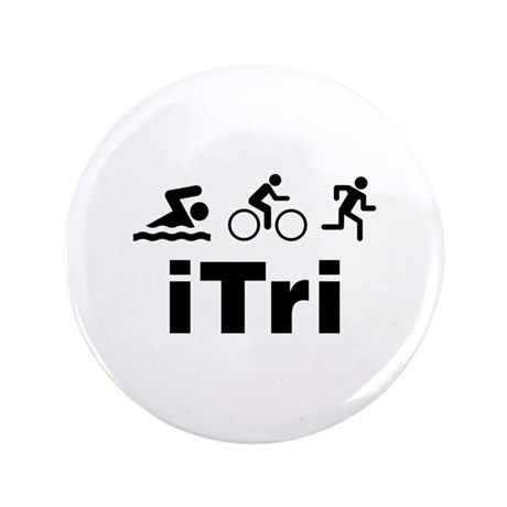 """iTri 3.5"""" Button (100 pack)"""