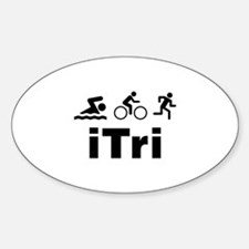 iTri Sticker (Oval)
