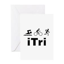 iTri Greeting Card