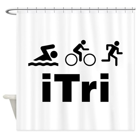 iTri Shower Curtain